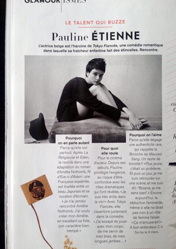 Pauline Étienne - Glamour